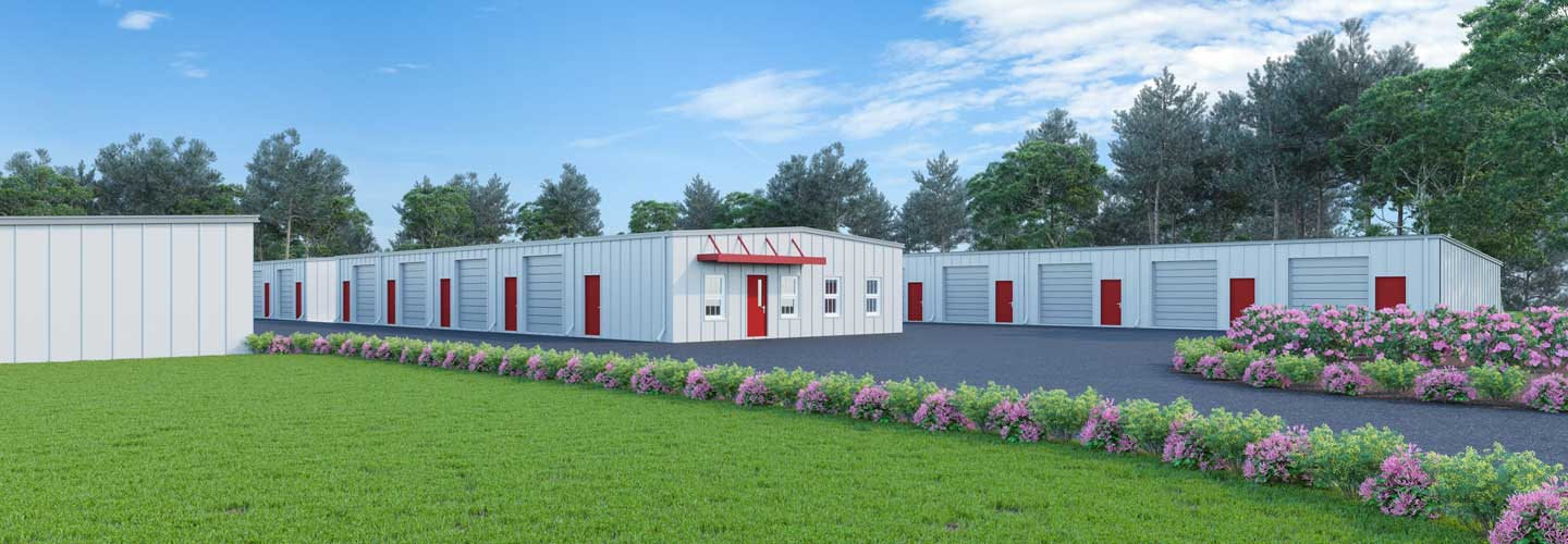 Max Storage - An artist rendering of our new storage units in Panama City Beach, Florida