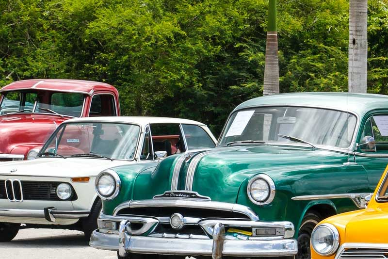 Vehicle storage in PCB Florida for classic cars and automobiles